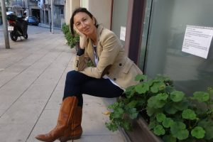Carmen Litago, recaptadora de fons de la Fundació Roure