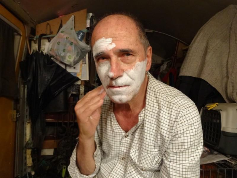 Barcelonogy, Lluís Raluy maquillatge 3